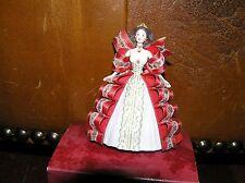 Hallmark Keepsake Holiday Barbie 1997 Christmas Tree Ornament  - VERY GOOD con