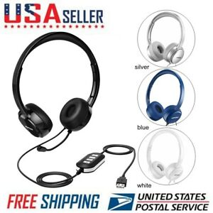 e9b7c6c0ed0 Mpow 071 USB Headset/ 3.5mm Computer Headset with Microphone Noise ...