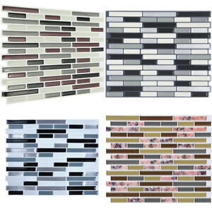 3D-Wall-Decals-Stickers-Kitchen-Splashback-Panels-Bathroom-Peel-and-Stick-Tiles