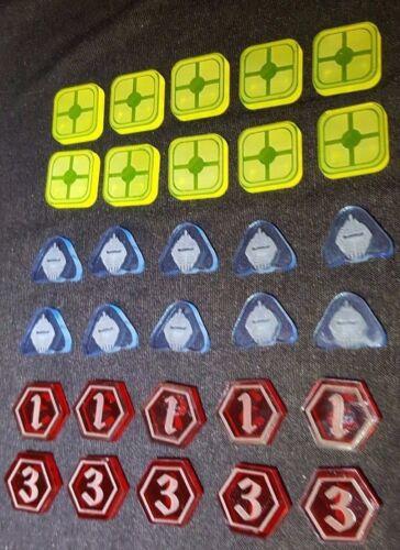 Star wars destiny compatible token set