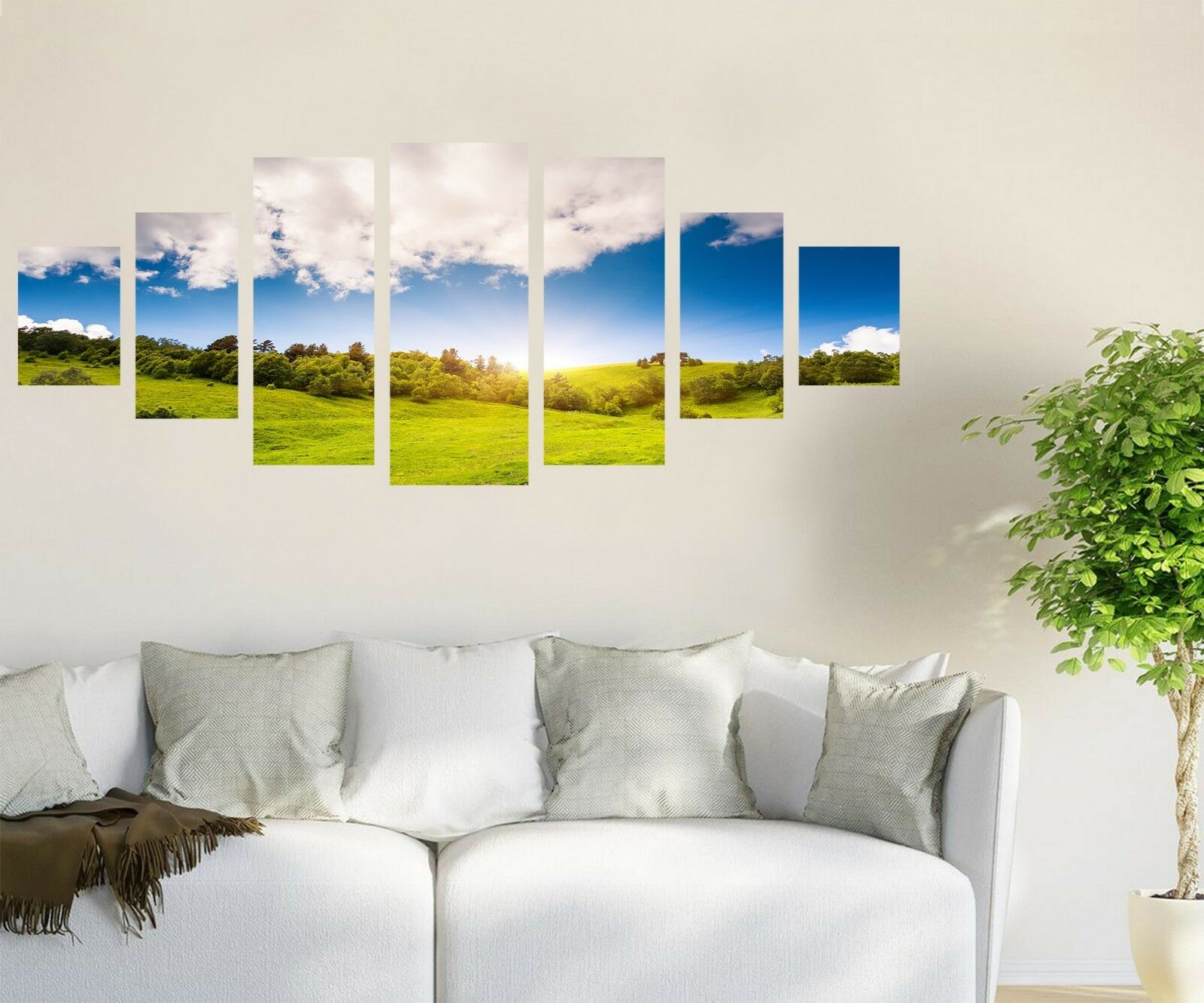 3D Meadow Sky 72 Unframed Print Wall Paper Decal Wall Deco Indoor AJ Jenny