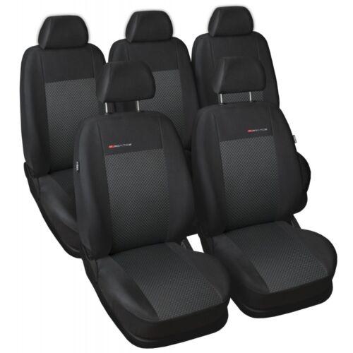VW Sharan 5 escaños 1995-2010 maßgefertigt medida fundas para asientos funda del asiento Velour