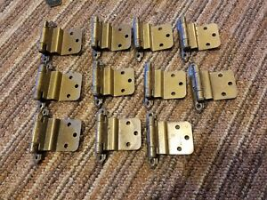 Image Is Loading 11x Vintage Copper Hinges Kitchen Cabinet