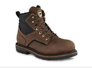 Irish Setter RAMSEY 2.0 Mens ALUMINUM SAFETY TOE Brown 83648 Lace Up Work Boots