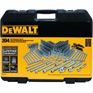 Dewalt Mechanics 204 piece Tool and Socket Set # DWMT72165
