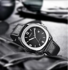 39mm-PARNIS-Schwarz-dial-Sapphire-Glass-Luminous-Automatic-movement-mens-Watch