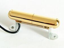 Artec Alnico 5 Lipstick Tube Single Coil Guitar Bridge Pickup Gold