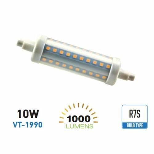 Lampadina led R7S 10W Bulb Tubolare V-TAC  attacco R7S VT-1990