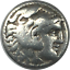 thumbnail 1 - 4-2-Grams-Detailed-SILVER-Alexander-the-Great-Posthumous-Drachm-Coin-322-275-BC