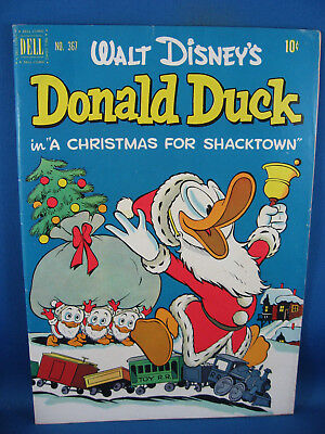 367 F VF BARKS UNCLE SCROOGE CHRISTMAS