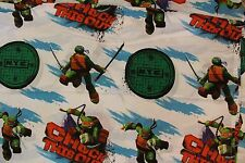 Nickelodeon Teenage Mutant Ninja Turtles Twin Sheets Flat and Fitted