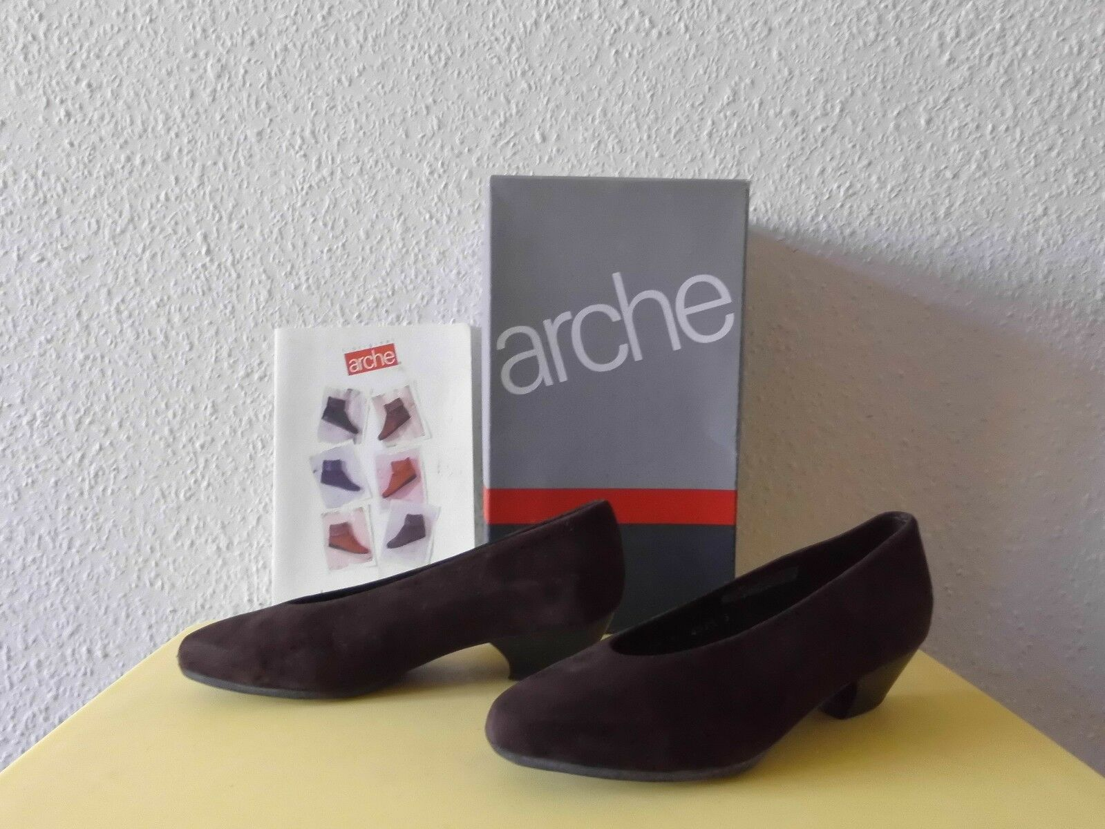 Schuhe Pumps ARCHE Gr.38 Leder TOP