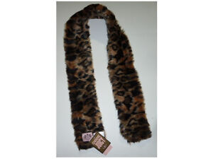 NWT-JUICY-COUTURE-ANIMAL-PRINT-LEOPARD-TIGER-LOOK-SCARF-58-00