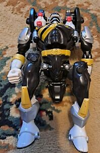 Bandai 2001 Power Rangers Wild Force Black Ninja Zord Morphin Loose Figure