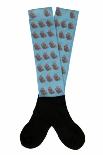 Lettia Boot Socks with Padded Foot Sloths