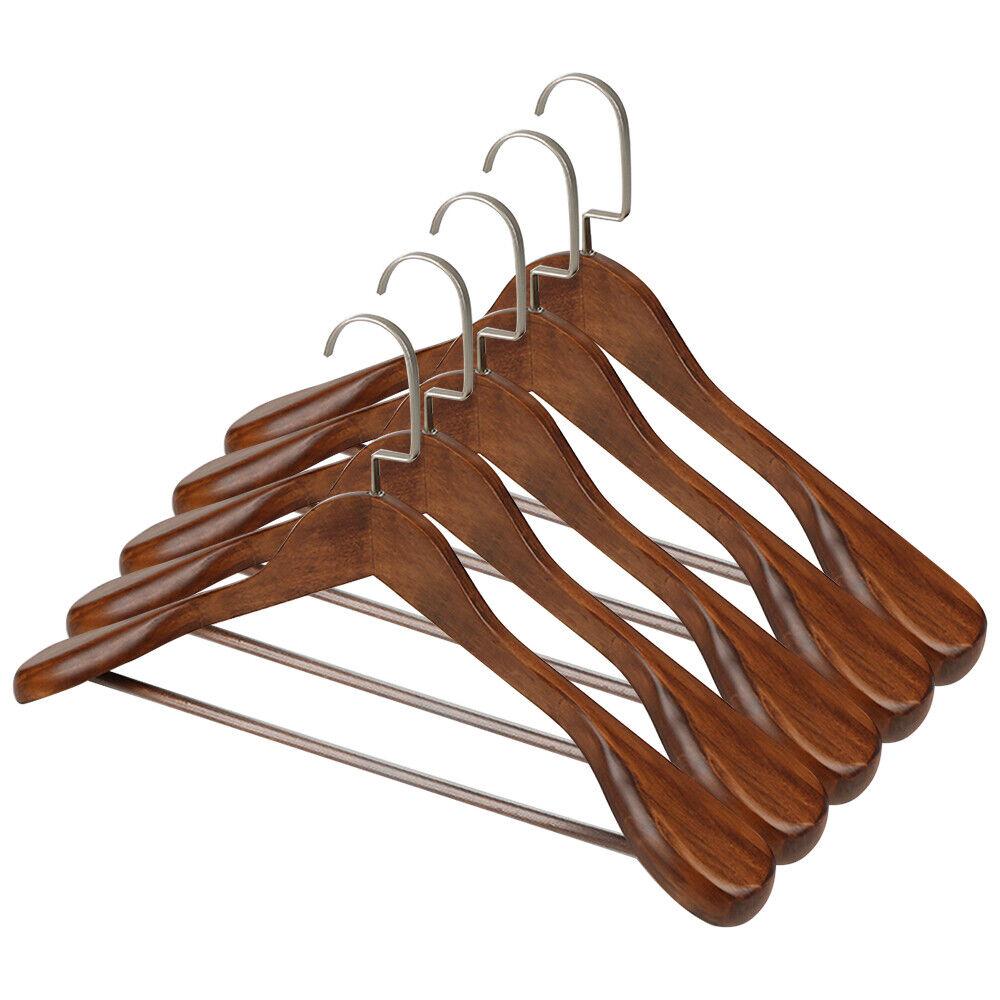 vintage wooden coat hangers