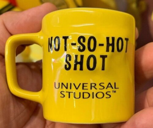Universal Studios Exclusive The Simpsons Homer NOT SO HOT SHOT Espresso Cup New