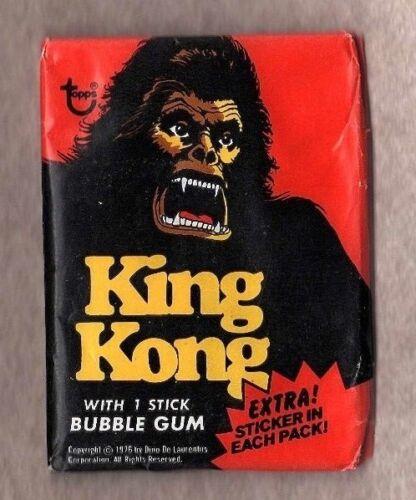 1976 Topps King Kong Wax Pack