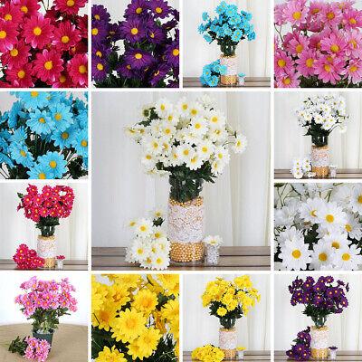88 Silk Daisies Wedding Party Bouquets Flowers Artificial Garden