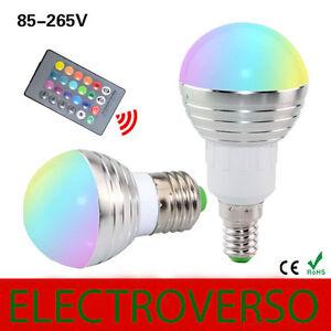 Bombilla-Led-5w-E14-E27-RGB-16-colores-Mando-IR