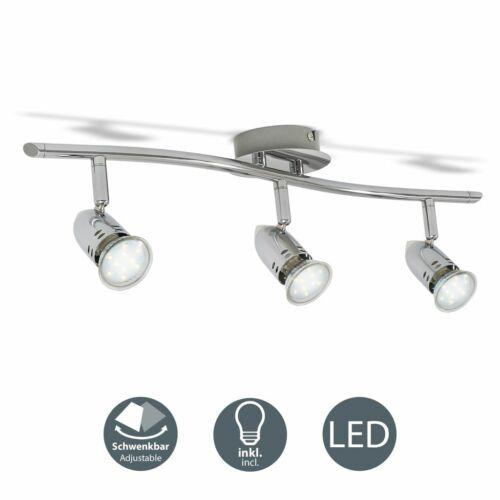 Design Deckenlampe LED Decken-Spot 2-4 flammig Strahler GU10 Leuchte lampe 6-12W