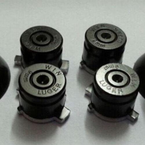 Metal Alloy Aluminum Bullet Thumbstick Cap for Play station PS4 Controller 9mm