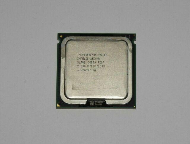 Intel Xeon E5440 2,83 GHz Prozessor Sockel 771 SLANS + Wärmeleitpaste