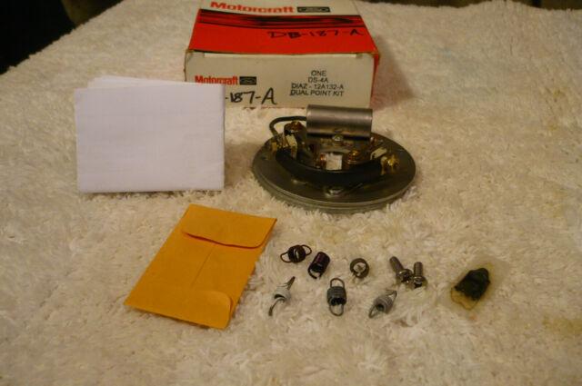 289 HiPo dual point breaker plate Motorcraft kit D1AZ-12A132-A
