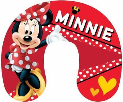 Vacances Disney Minnie Mouse pour Enfants Coussin de Cou Oreiller de Voyage Vo
