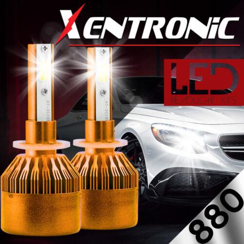 880 881 899 980W 147000LM 6000K Bulbs CREE LED Headlight Foglight Conversion Kit