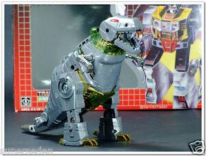 6Transformers TF G1 Reissue MISB Dinosaur Dinobot Bommander Grimlock