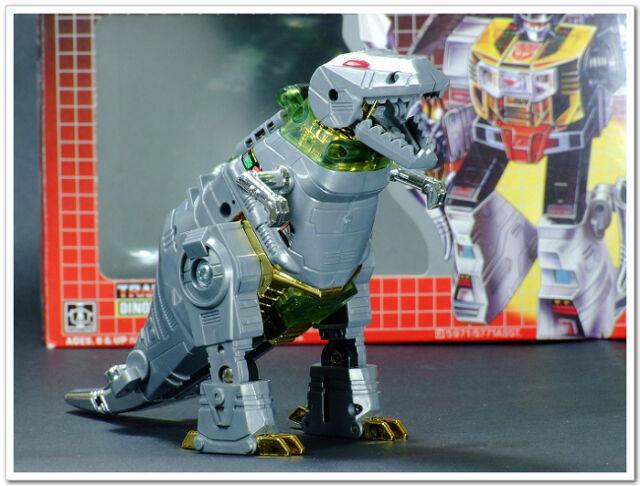 Transformers Reissue G1 Dinobot『GRIMLOCK』MISB