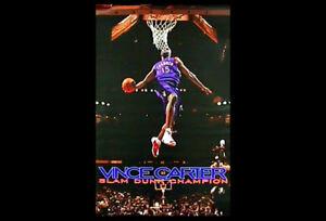 393e8315211 Rare Vintage Original VINCE CARTER NBA SLAM-DUNK CHAMPION Toronto ...