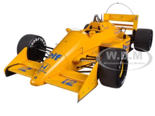 hasta 60% de descuento Lotus 99T Honda F1 japonés 1987 Senna  12 12 12 sin Lotus Logo 1 18 Autoart 88728  Ahorre 60% de descuento y envío rápido a todo el mundo.