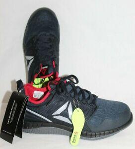 Details about Reebok RB4250 Zprint Work Shoe Steel Toe ASTM F2413 Mens 9 M NavyRedGrey NEW