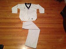 Vintage Adidas White Belt Karate Uniform Youth Size 5