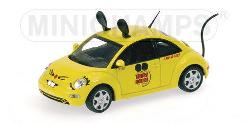 Noël est plein de joie Volkswagen VW New Beetle 1998 Truly Nolen 1:43 Model MINICHAMPS | Outlet  | Moelleux Et Léger  | Exquis  | D'avoir à La Fois La Qualité De Ténacité Et De Dureté