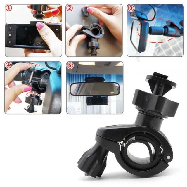 Black Car Rearview Mirror Bracket Holder Mount For Dash Camera G1WH/G1W-C/SM550