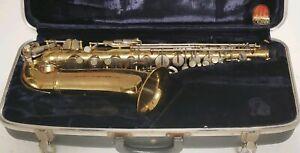 Vintage-Conn-etoiles-filantes-saxophone-alto-avec-etui-rigide