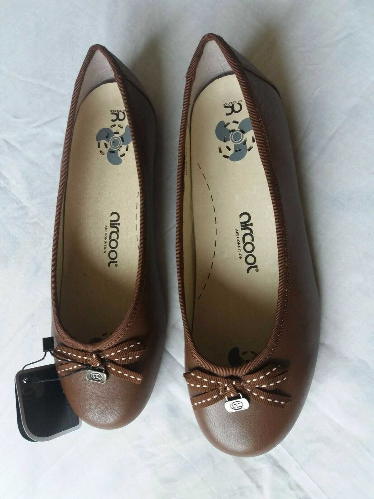 Brand New Aircool Ballerina shoes UK Size 6 Fit EEE