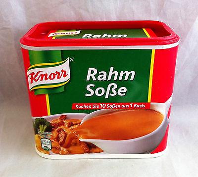 Knorr Rahm Soße 238 g für 1,75 L Sauce (100g/2,52€)