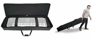 Rockville-61-Key-Keyboard-Case-w-Wheels-Trolley-Handle-For-Yamaha-MOX6