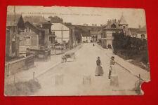 LAROCHE MIGENNES QUARTIER DU CANAL AVENUE DE LA GARE 1915