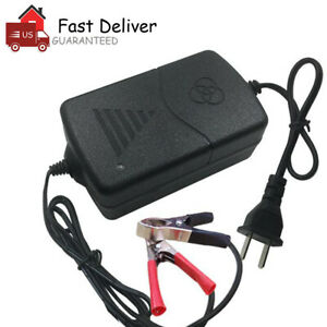 Car-Battery-Charger-Maintainer-Auto-12V-Trickle-RV-for-Truck-Motorcycle-ATV-US