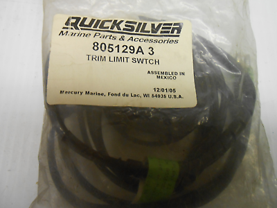 Quicksilver 99122A 2 Trim Limit Switch Assembly