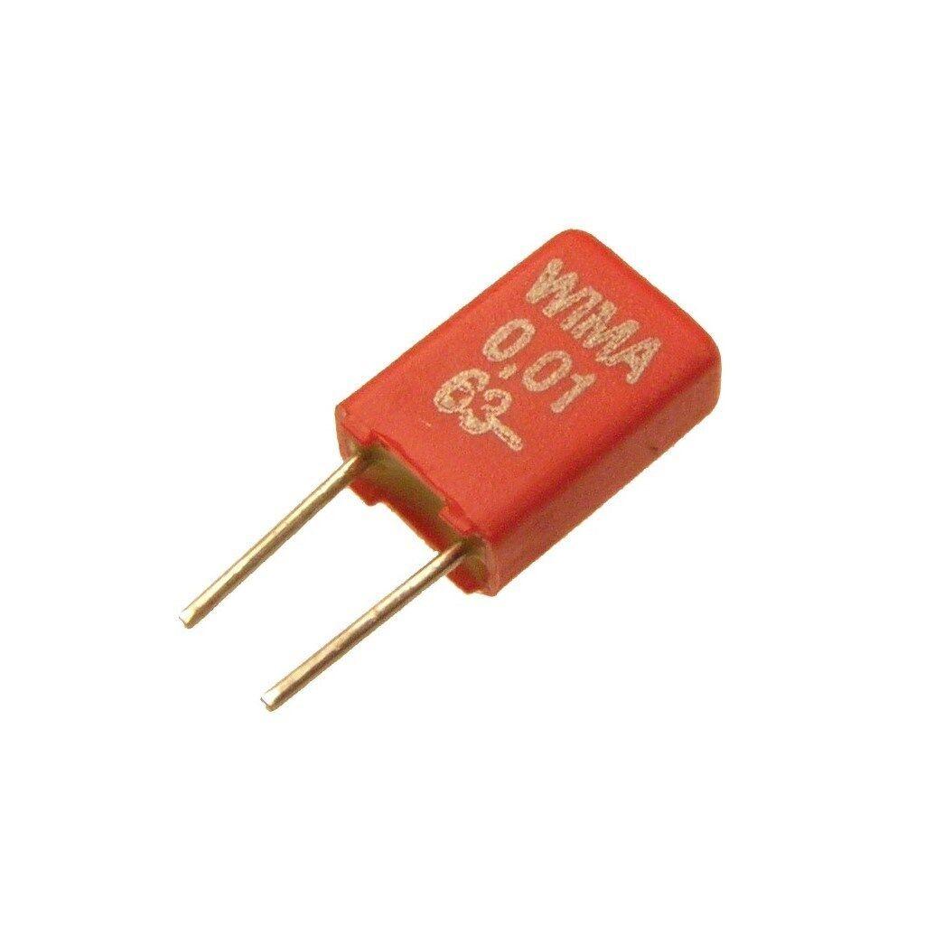 10 WIMA Metallisierter Polyester-Kondensator MKS02 10/% 63V 0,033uF 2,5mm 089661