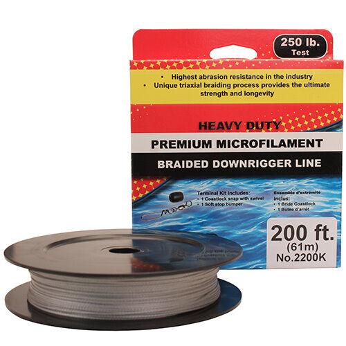 Scotty PBF Downrigger Line 250 lb Test 200 Feet Spool  Kit - 2200K  buy best