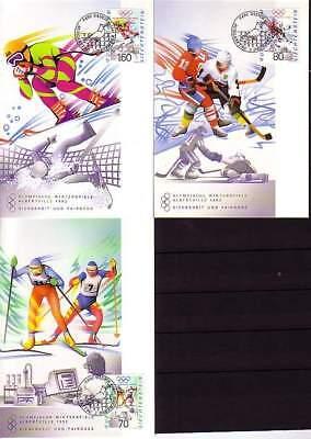 Liechtenstein Mk 105 Michelnummer 1030-1032 europa:15495 Ausgezeichnet Im Kisseneffekt