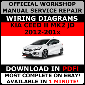 Official workshop service repair manual for kia ceed ii mk2 jd 2012 image is loading official workshop service repair manual for kia ceed publicscrutiny Choice Image