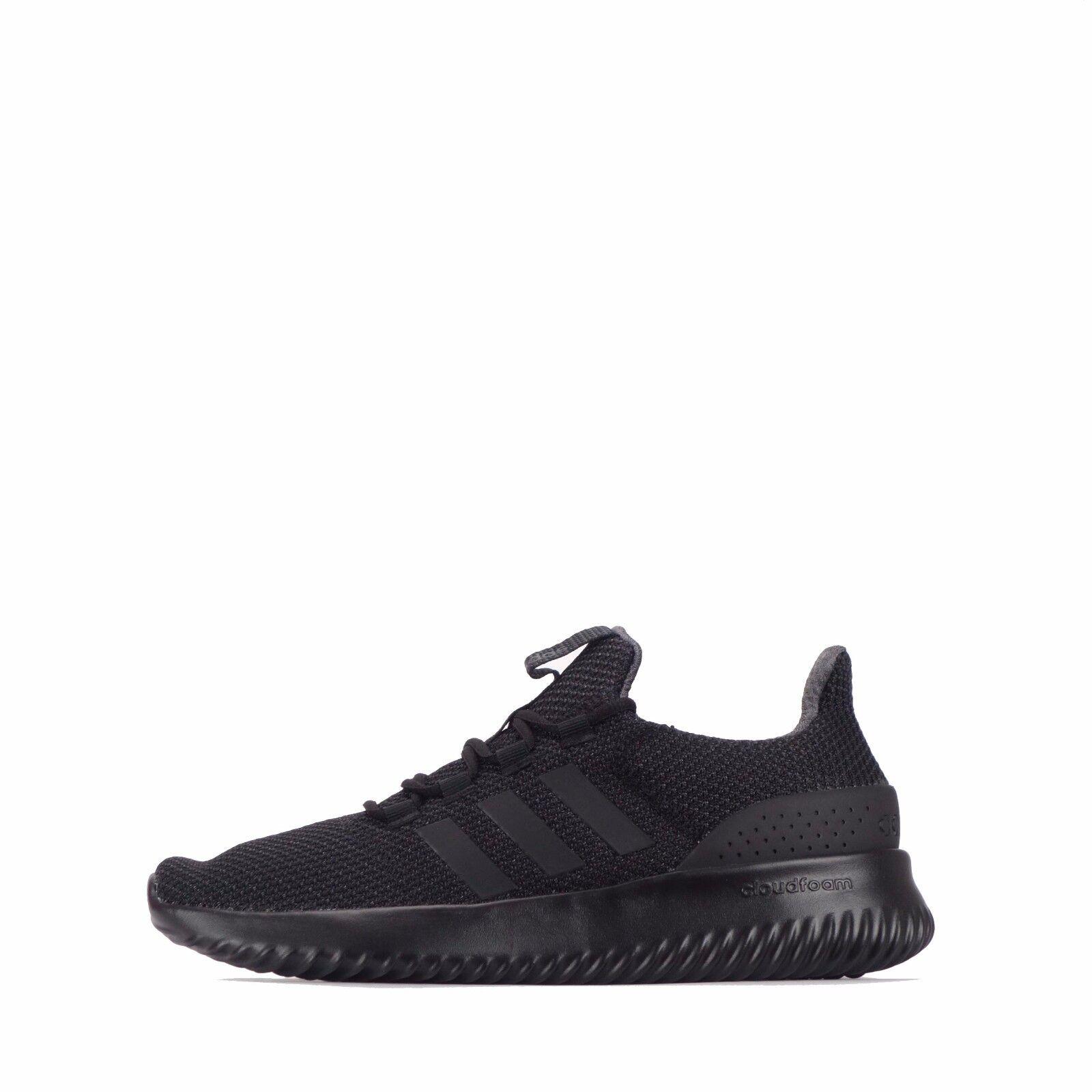 Adidas Neo Cloudfoam Chaussures Hommes Triple Noir